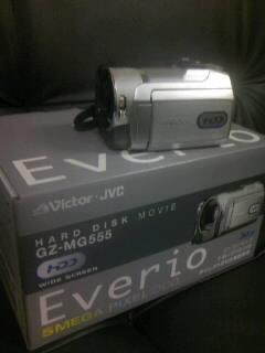 DVカメラ壊れたので